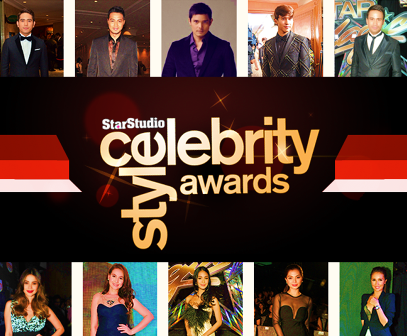 StarStudio Celebrity Style Awards 2013 Nominees
