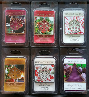 Tuscany Candle Winter Holiday Christmas 2015 Scented Wax Melts