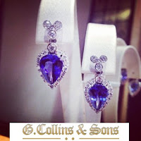 Kate Middleton Style - G. COLLINS & SONS jewellery - Earrings and Pendant