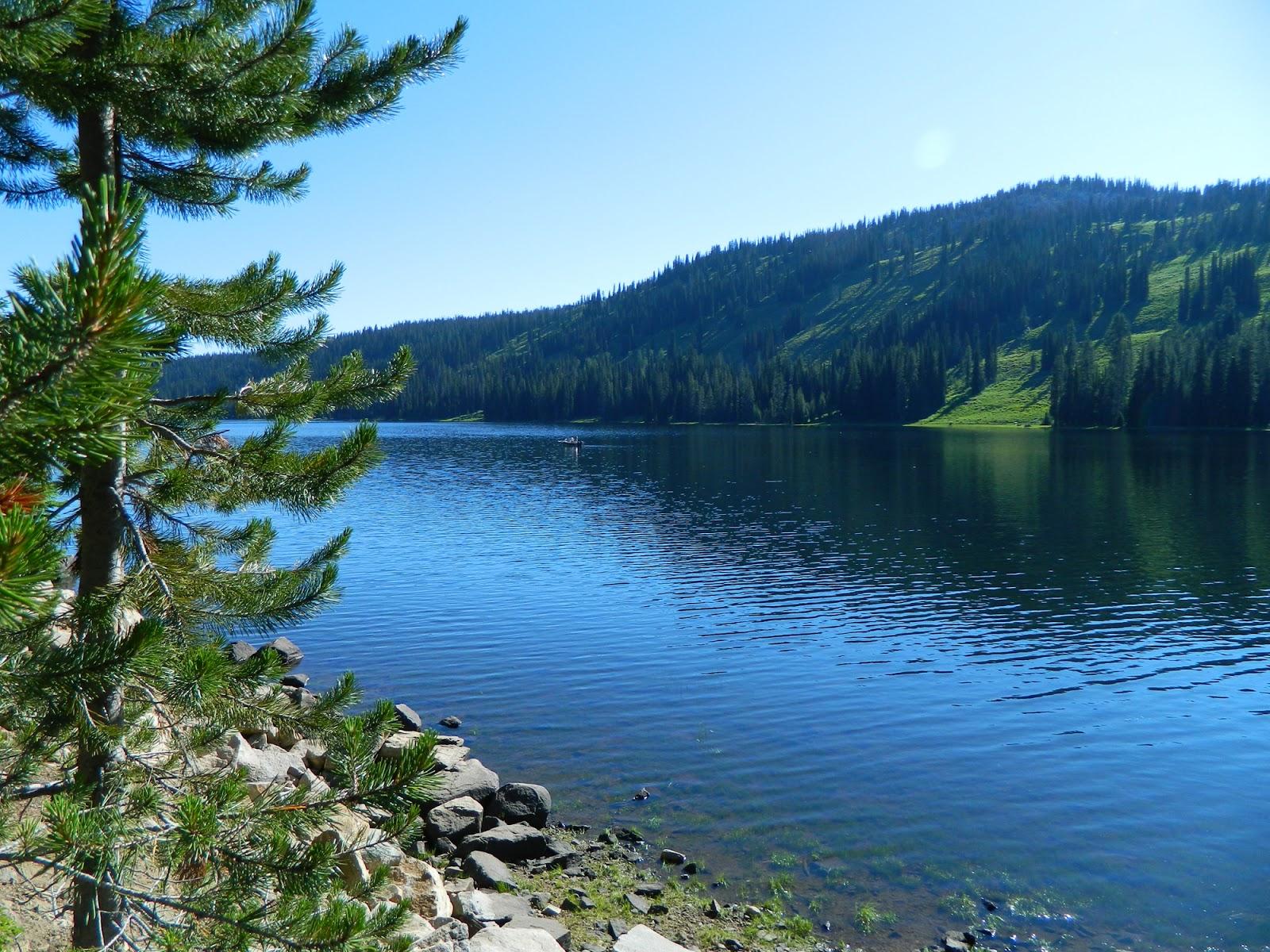 Living In Idaho Hike To Rainbow Lake Amp Black Lake Mccall