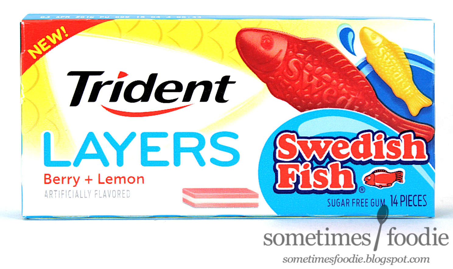 sometimes foodie swedish fish trident layers gum gift