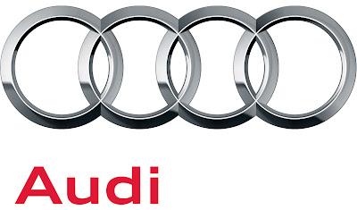 Audi car brand logo