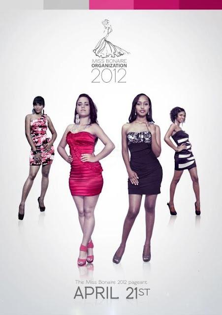 Miss Bonaire 2012 Candidates Contestants Delegates