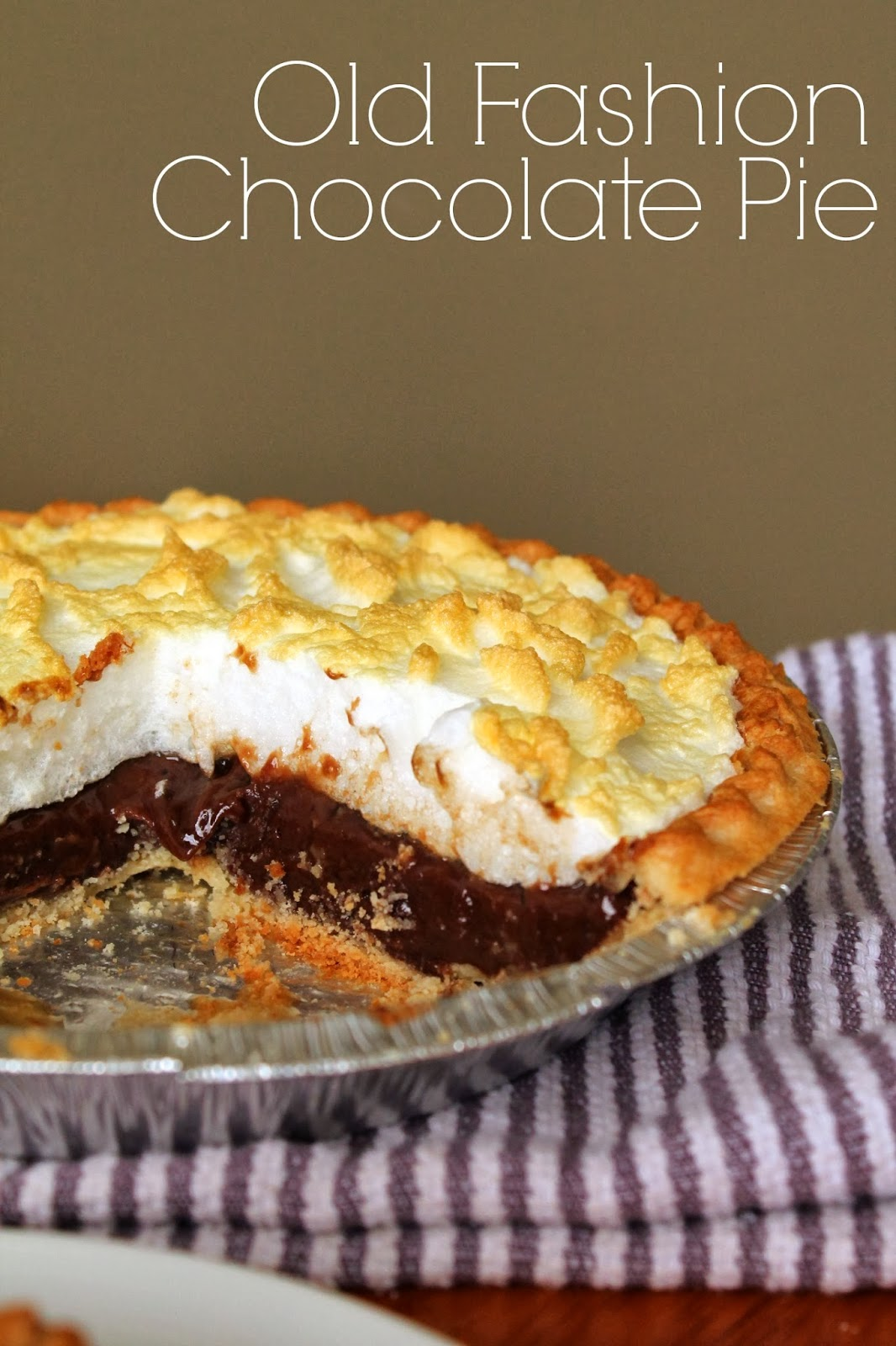 Old Fashioned Chocolate Pie Recipe 14