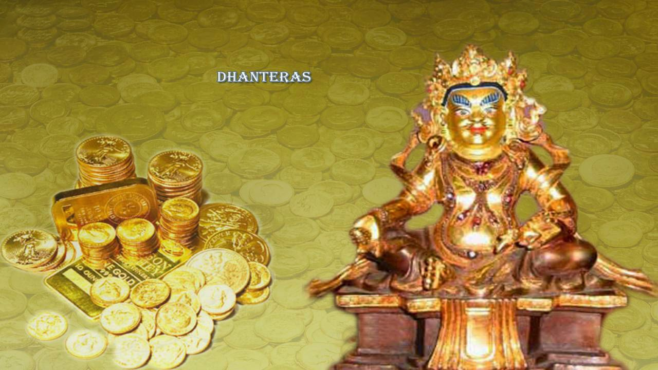 Happy dhanteras Kuber HD Picture 2014