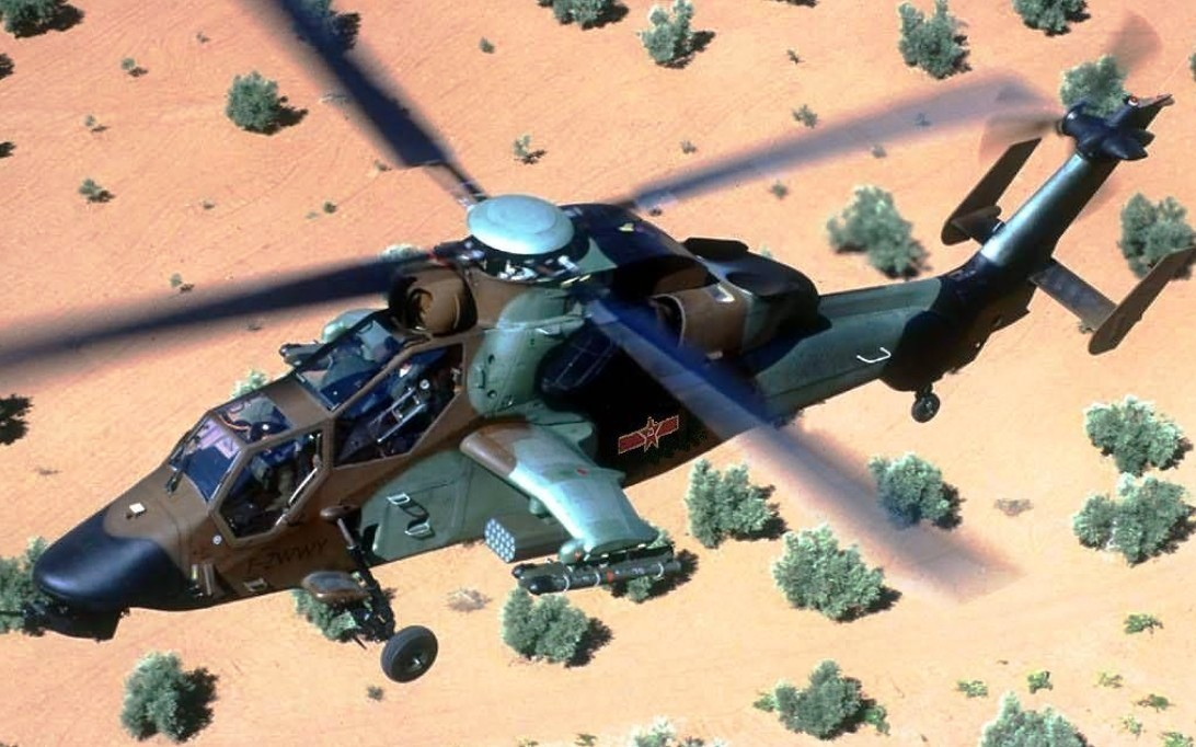 WZ-10 Attack Helicopter Wallpaper 3