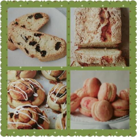 Guilt Free Baking collage 1