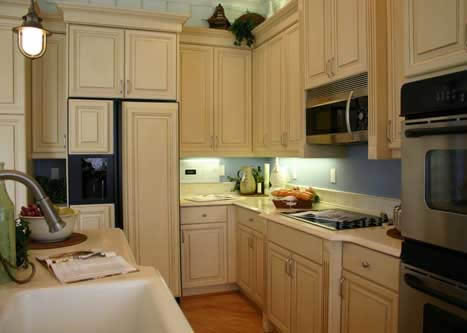 Small kitchen designs for Kitchen ideas no window