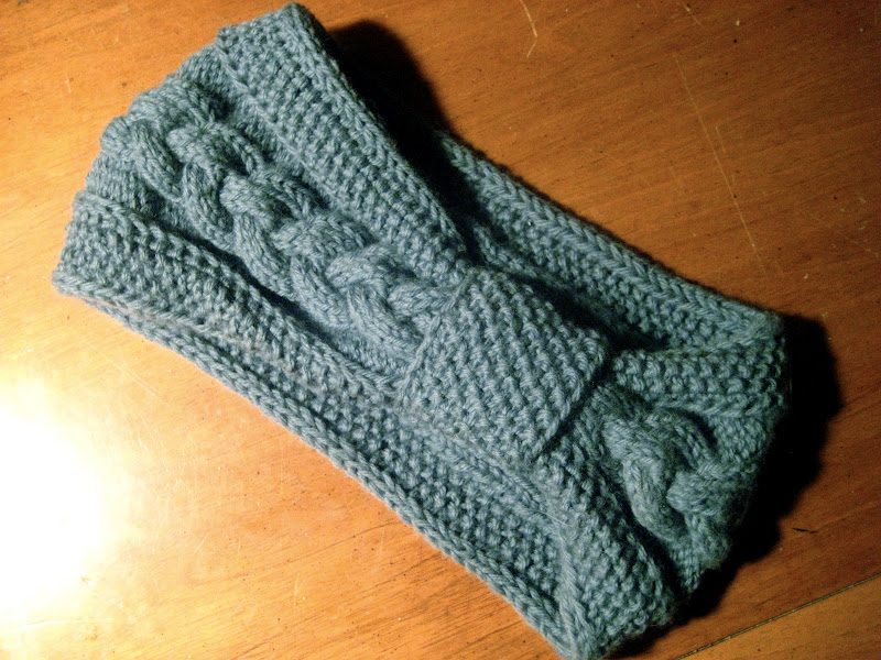 Knitting Pattern Cable Knit Headband : From Scratch: Knitting for Seasons Past