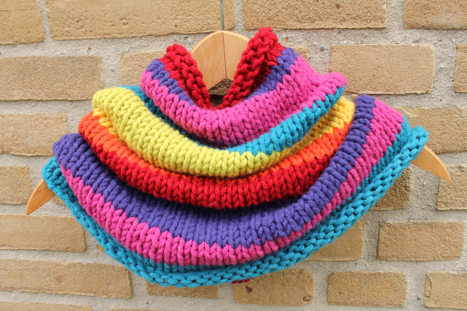 Hoeveel steken opzetten voor sjaal