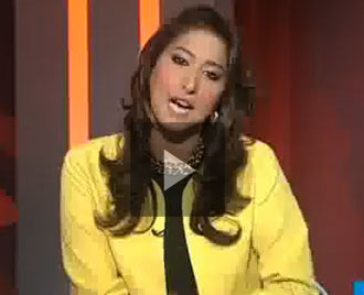 Mahar Bukhari http://talktvshows.blogspot.com/2011/05/dunya-tv-crossfire-with-mehar-bukhari_20.html
