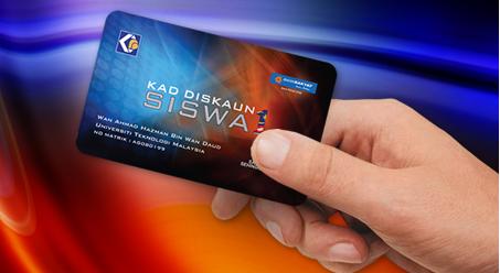 Kad Diskaun Siswa 1Malaysia (KADS1M) Ringankan Beban Pelajar