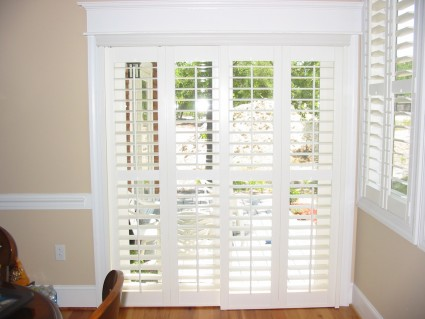 If You Have Shutters On The Rest Of Your Windows, Fear Not, You Can Also  Have Bypass Shutters Custom Made For Your Sliding Doors. These Shutters Of  Course ...