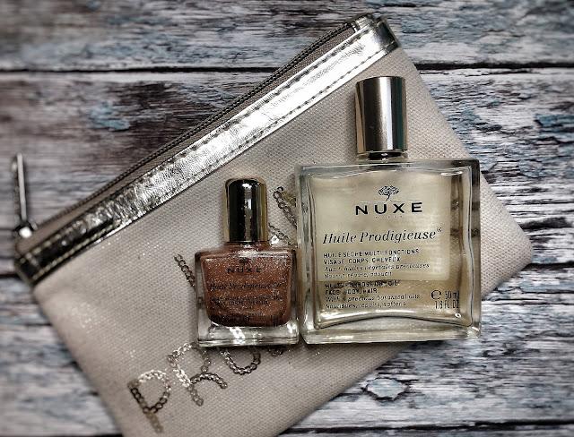 Suchy olejek Nuxe