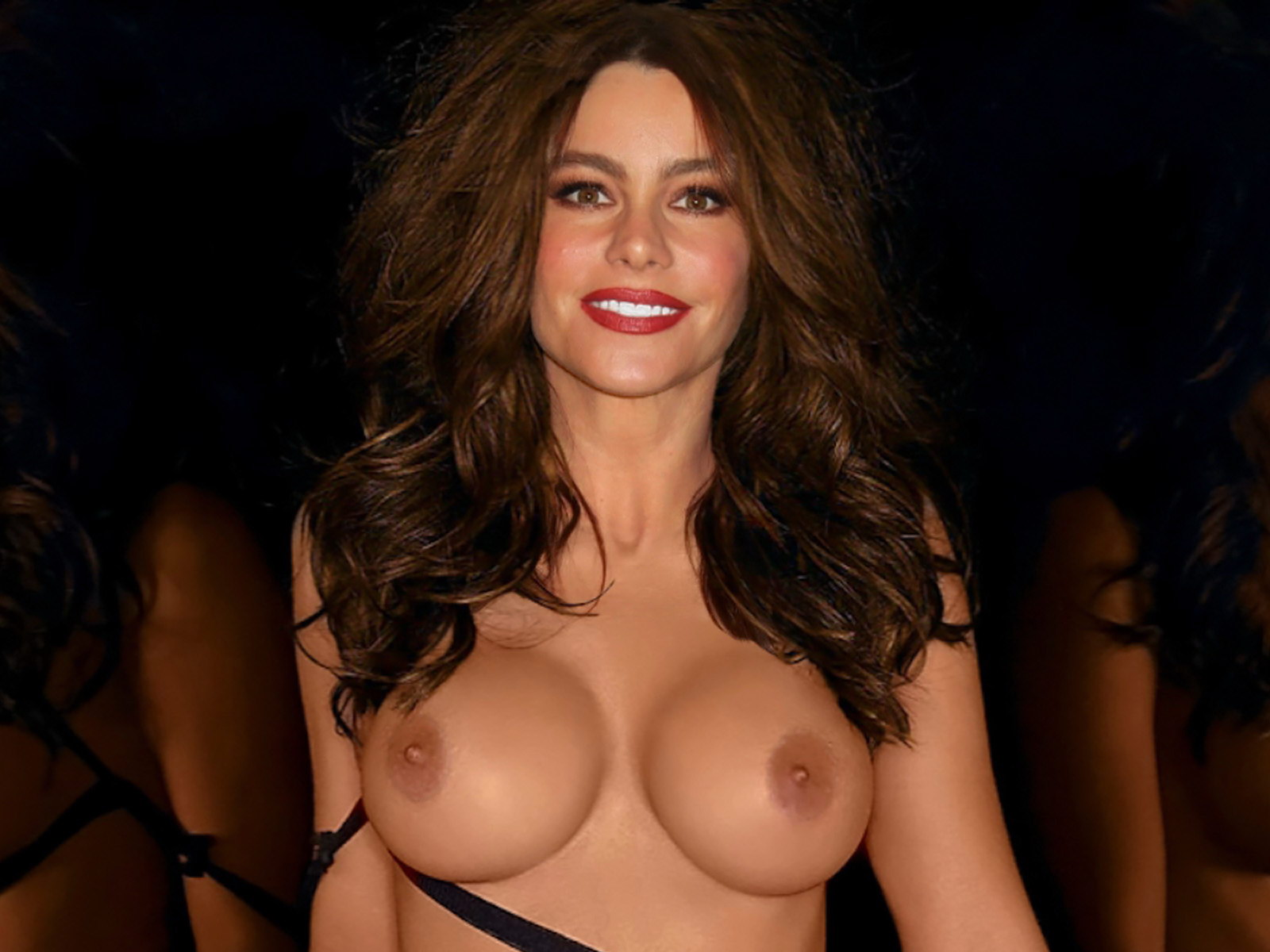naked girl sofia vergara
