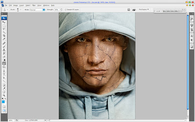 Текстура кожи в Adobe Photoshop6