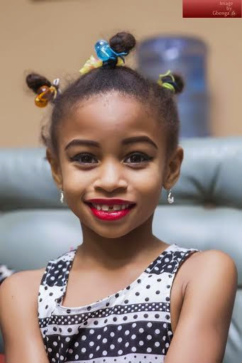 Ibinabo Fiberesima Celebrates Daughter, Ewomazino As She Turns 7 Today