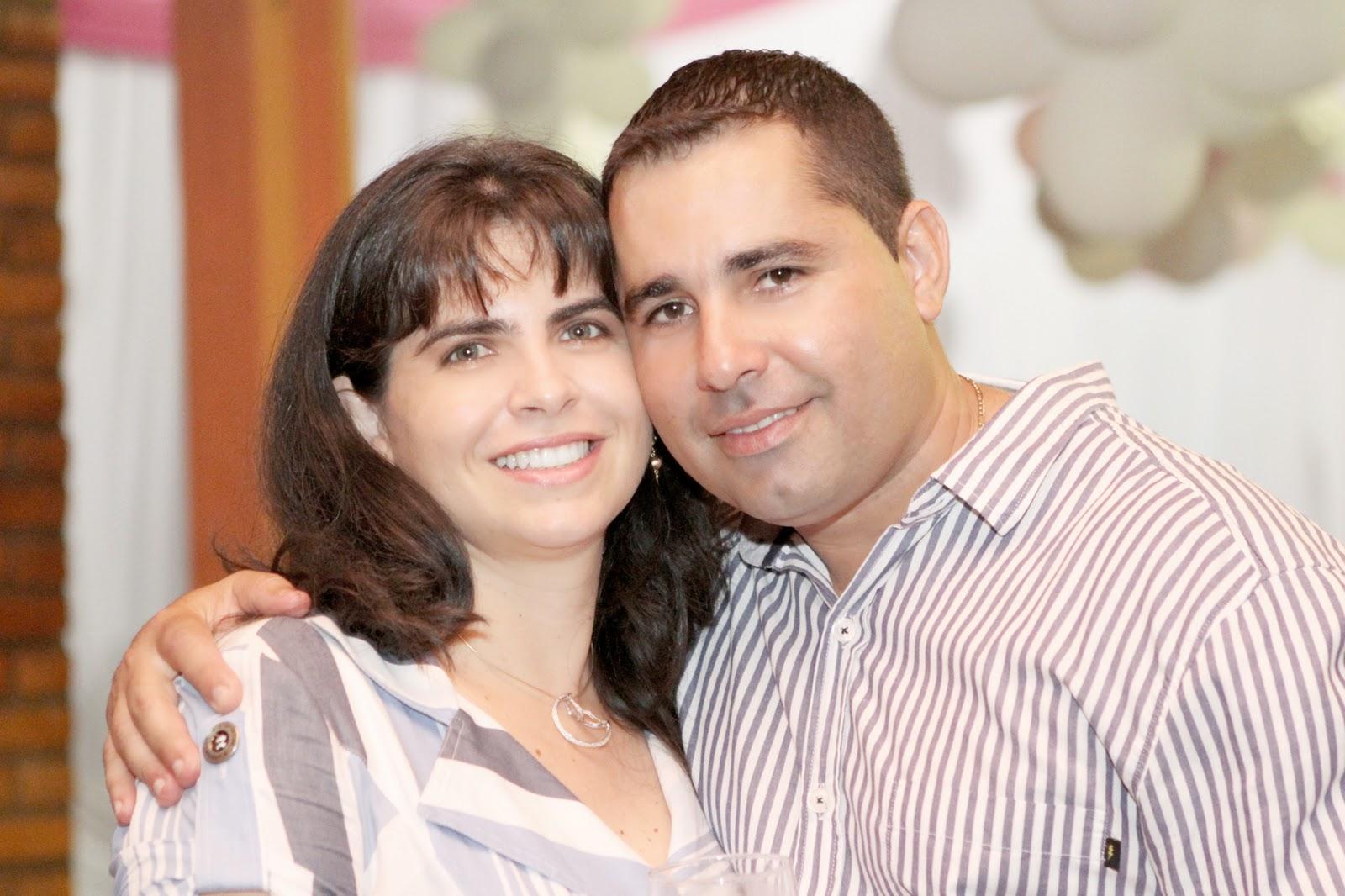 dani flores jardim ms:Os pais de Isabela, Cristhiane e Eduardo Ramos