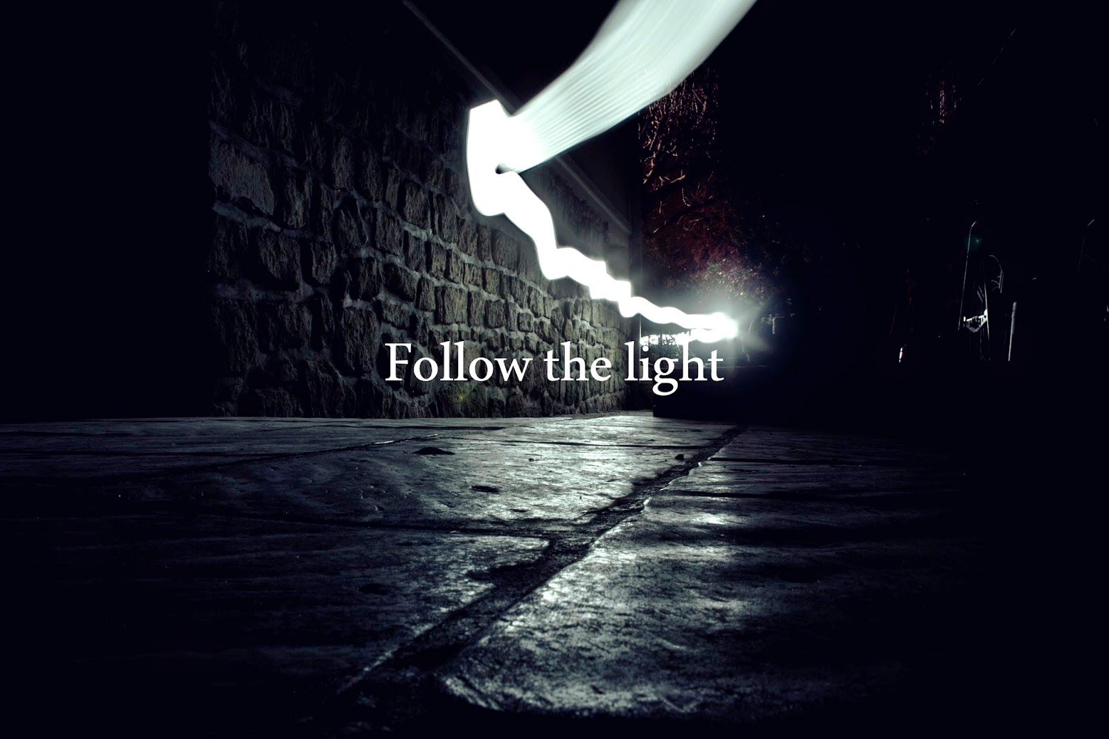 Follow The Light By Damien Gorza