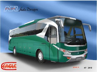 Design bus Eagle