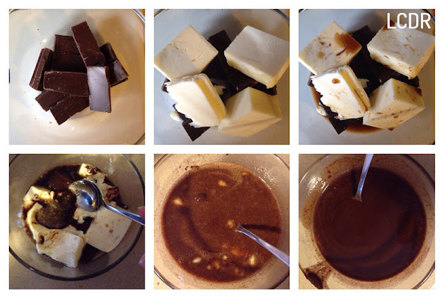Receta de mousse de chocolate 01