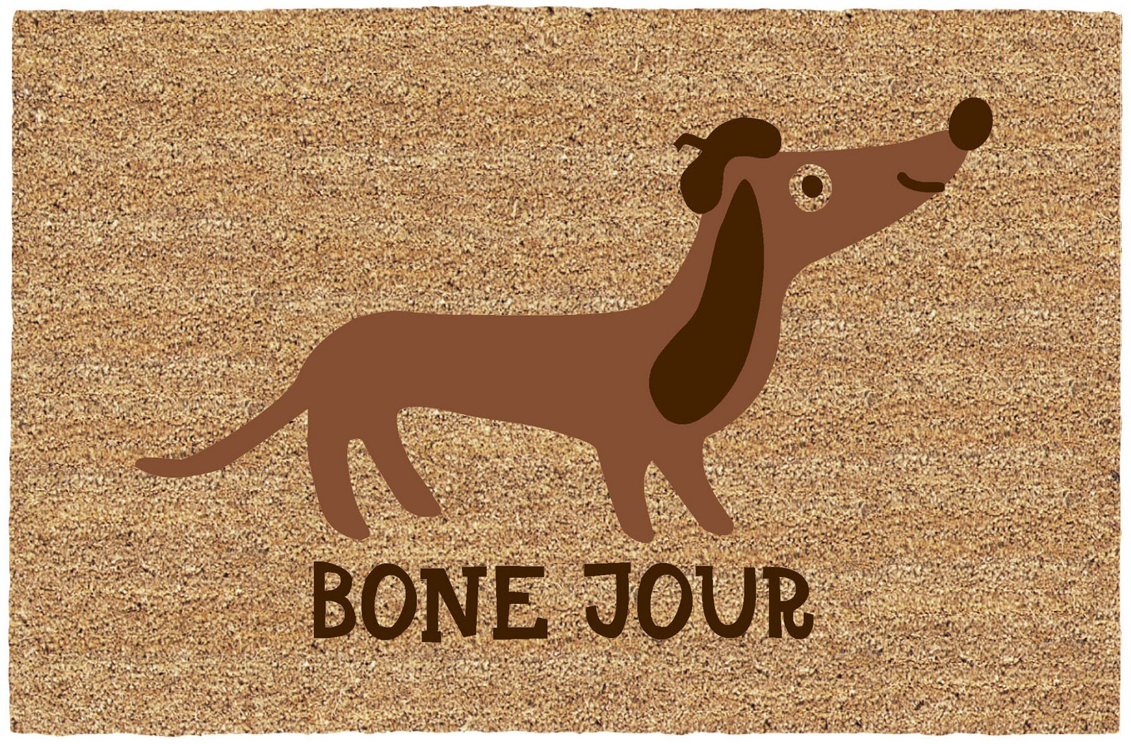 Welcome In The New Year With A Bone Jour Doormat!