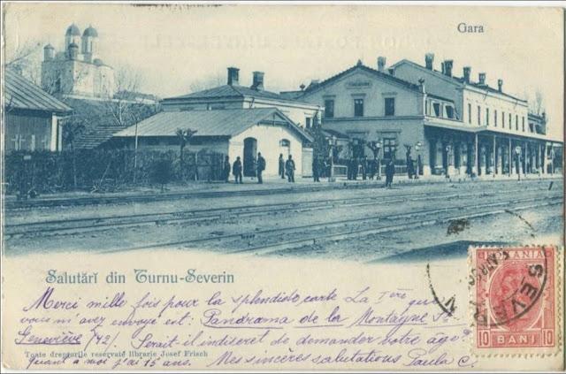 Gara din Turnu Severin