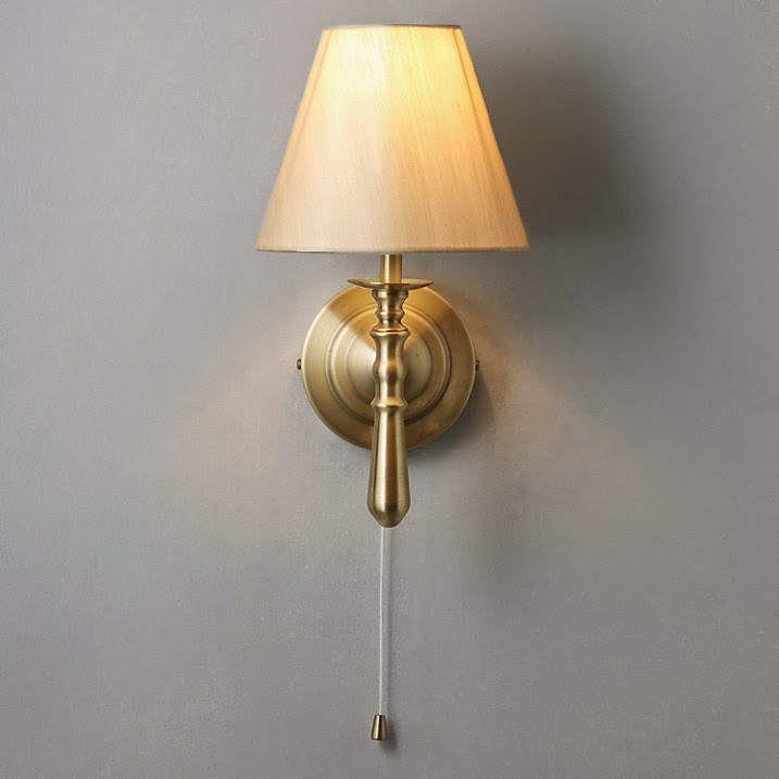David Dangerous: John Lewis - Brass Wall Lights