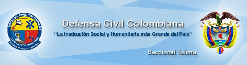 DEFENSA CIVIL COLOMBIANA Seccional Tolima