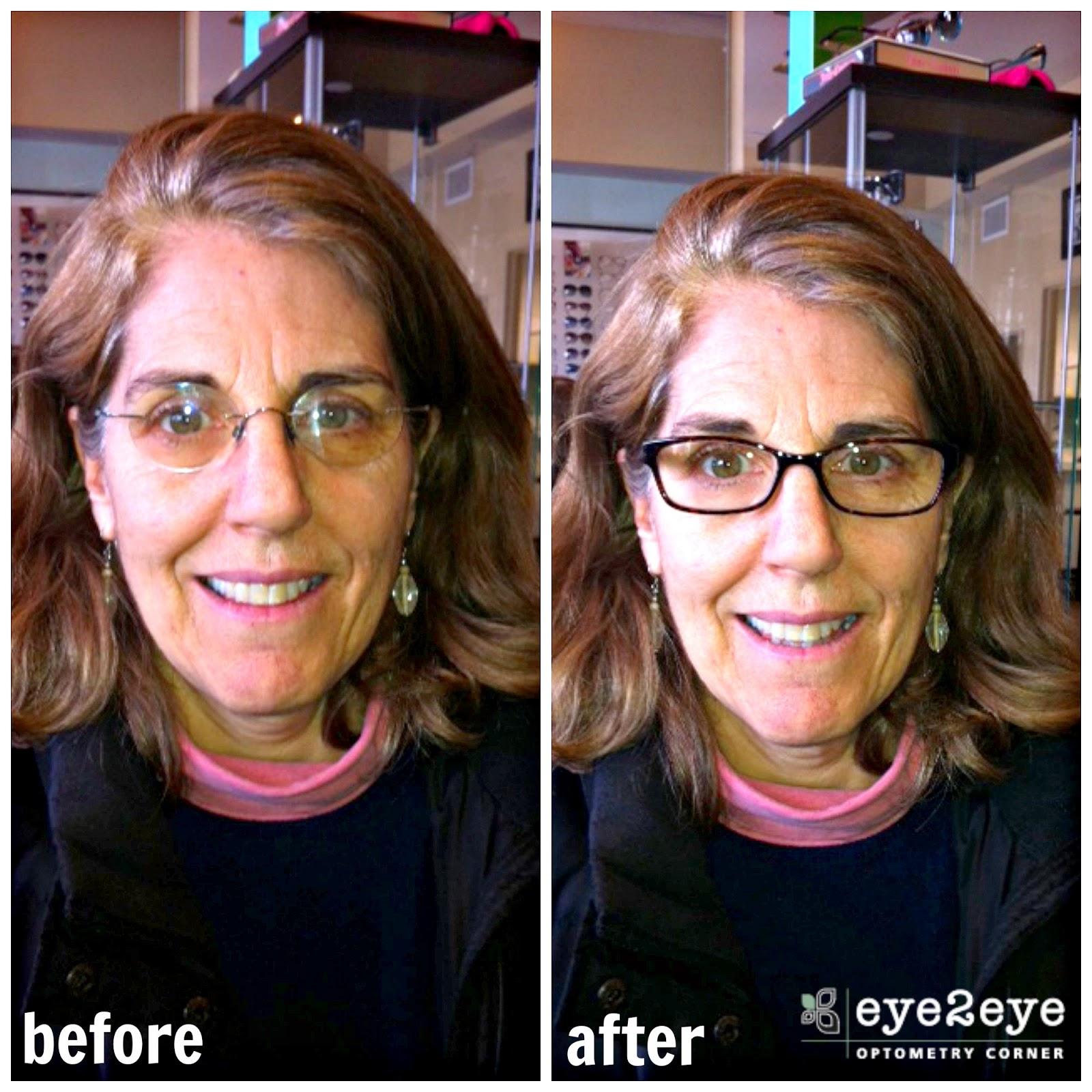 Before & After: New Kate Spade Frames!   Eye2Eye Optometry Corner