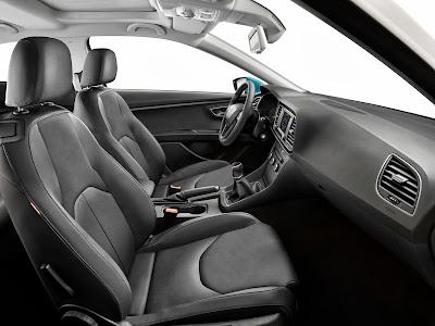 Interior del Seat Leon SC