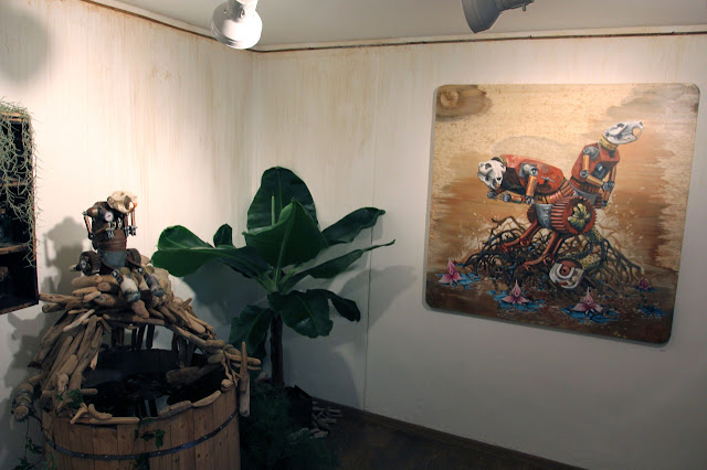 "Coverage Of Pixel Pancho ""The Garden Of Eden"" New Solo Show In Turin, Italy 5"