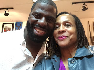 Che Rhymefest and Janice Temple SkychiTravels