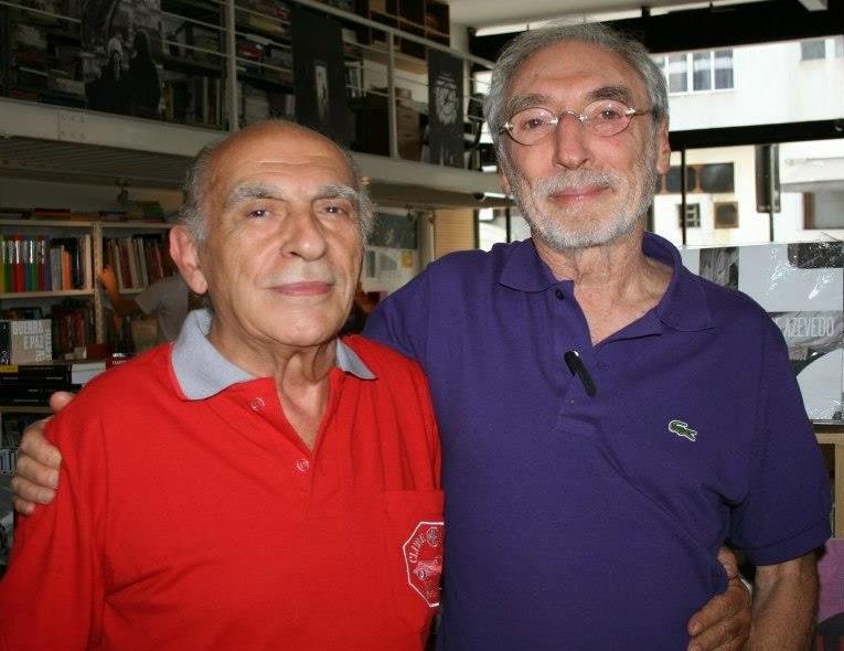 De Mitry e Percival Lafer em dezembro de 2012, durante lançamento do livro do MP Lafer (foto: Rene Sarli).