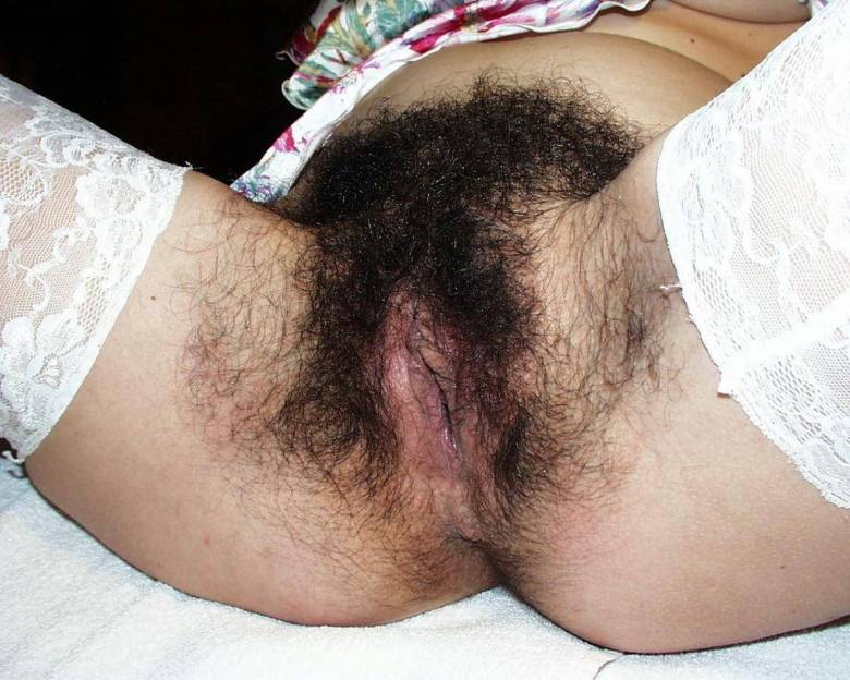 very hairy cunt