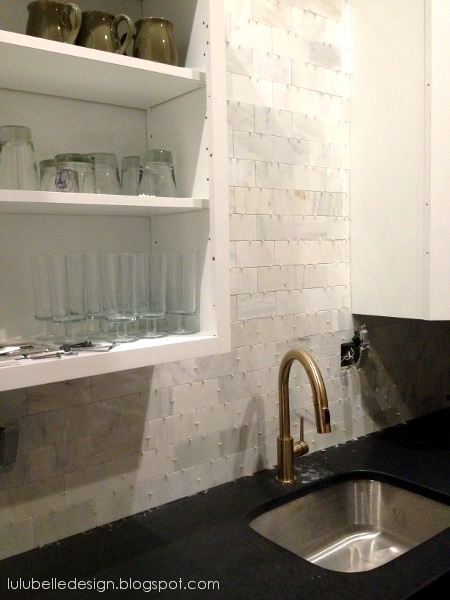 lulu belle design kitchen redo marble backsplash