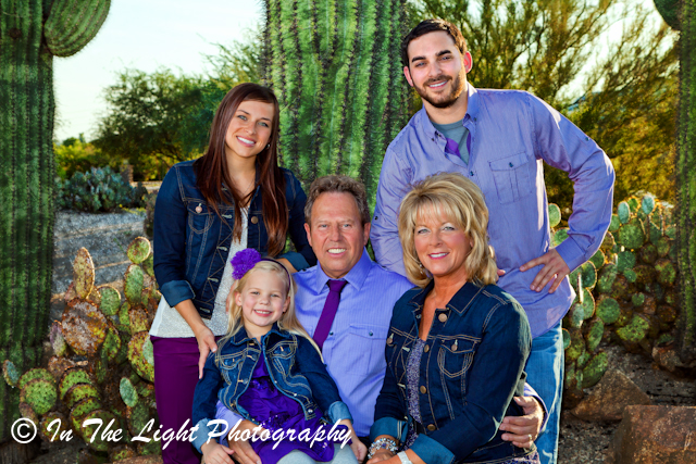 family portraits Gilbert Arizona Riparian Preserve