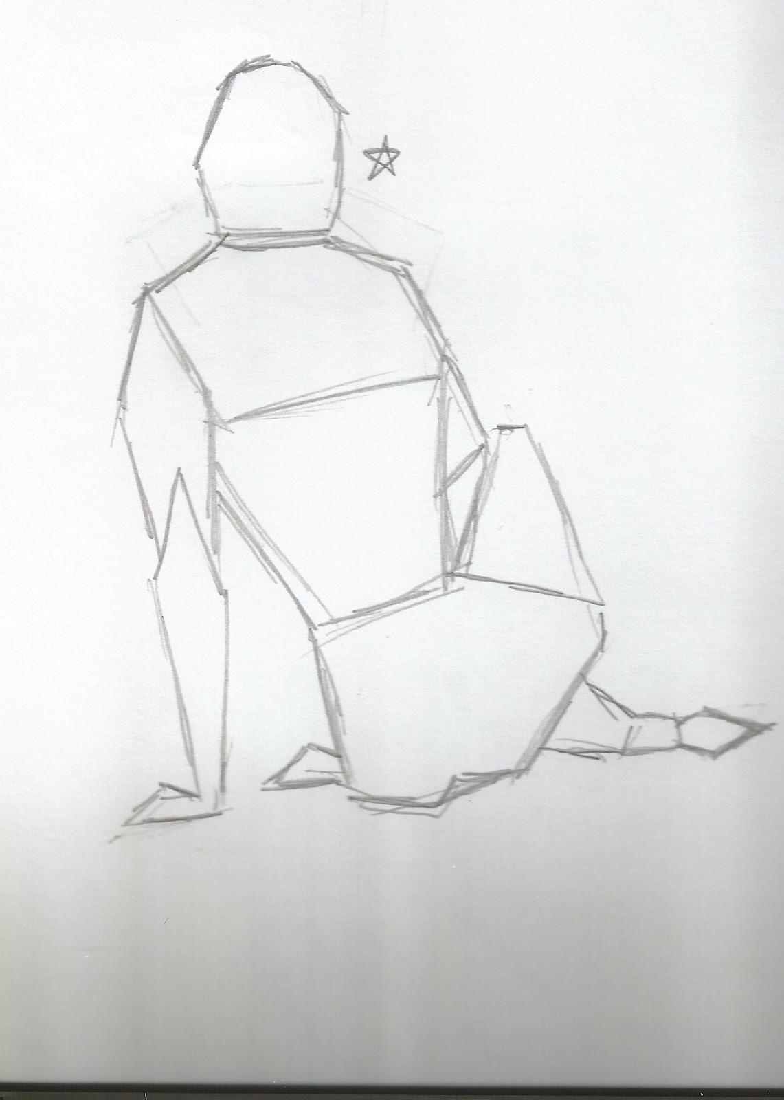 Geometric Life Drawing Drawing Visualization Still