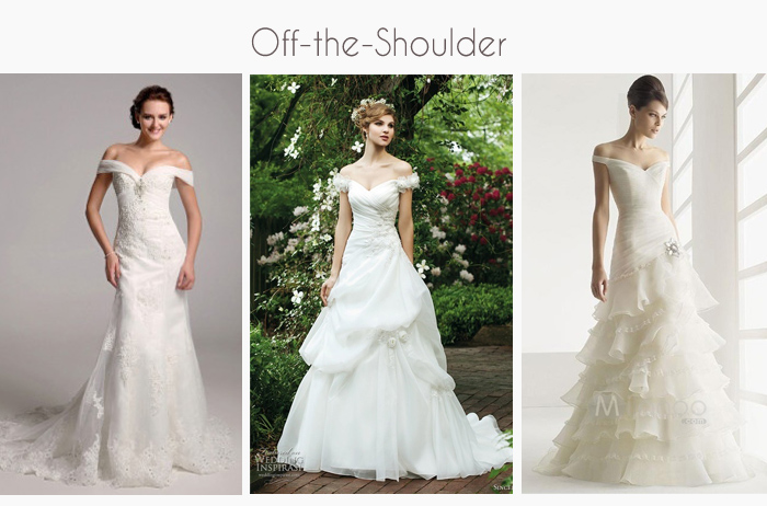 Perle jewellery and makeup how to choose a wedding dress for Wedding dresses for big busted women