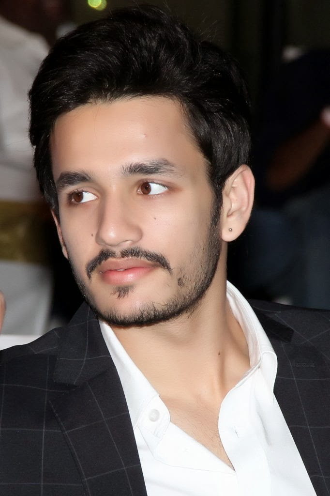 akkineni akhil handsome looking photos latest movie