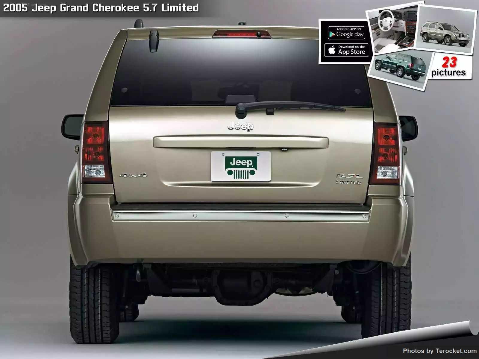 Hình ảnh xe ô tô Jeep Grand Cherokee 5.7 Limited 2005 & nội ngoại thất