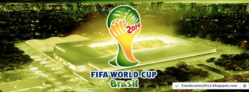 Portada Facebook Motivo Mundial Brasil 2014