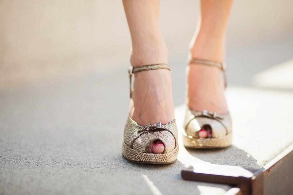 prada snakeskin peeptoe sandals heels