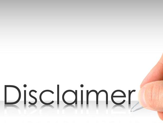 Contoh Disclaimer atau Penafian untuk Blog