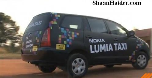 Nokia Lumia Taxi vs Samsung Omnia Taxi