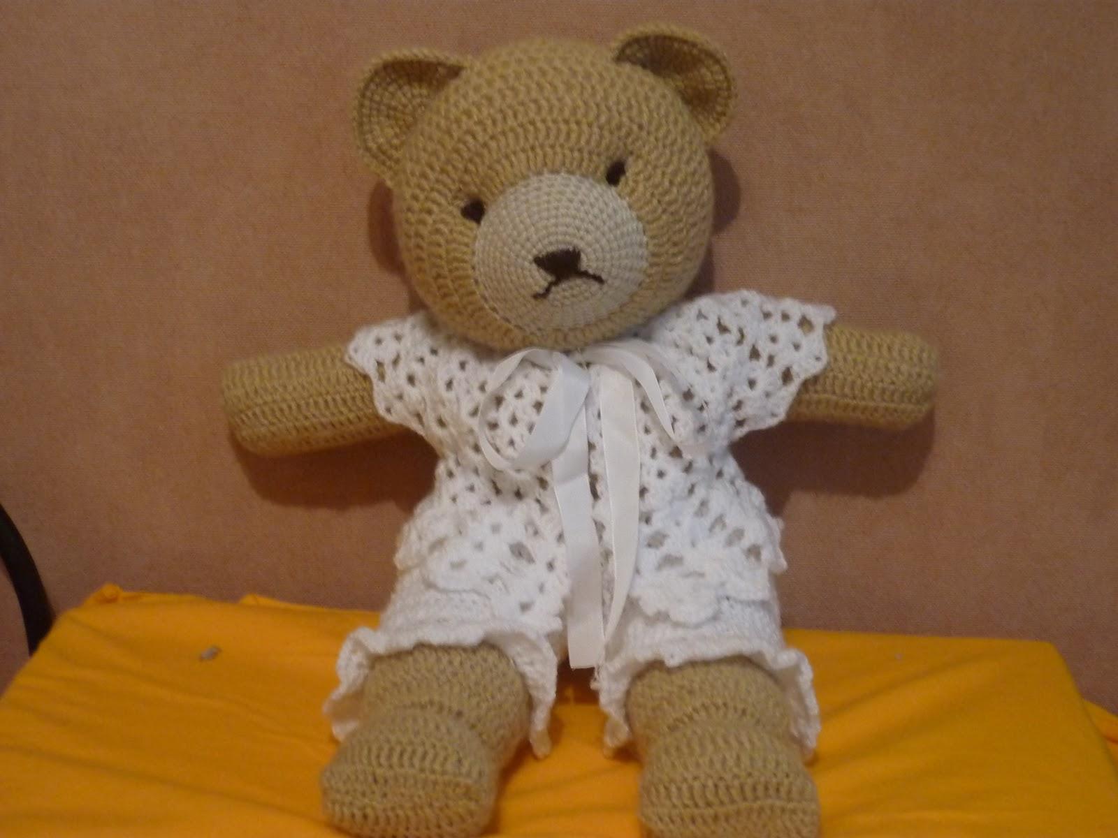 Amigurumi Oveja : Tejiendo Suenos: Canelle Oso amigurumi ( un oso romantico)
