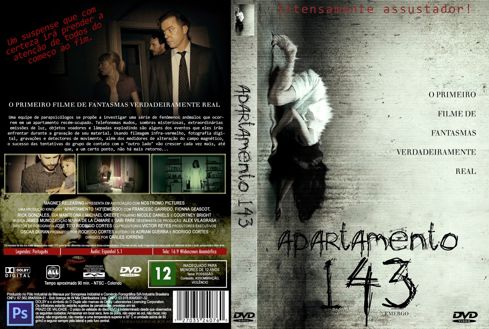 Apartamento 143 DVD Capa