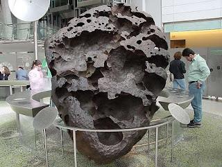 batu meteor