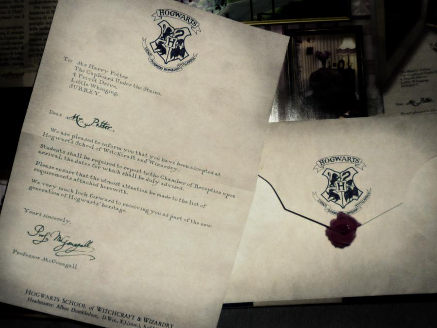 fanfiction | magicpotterwatch, Einladung