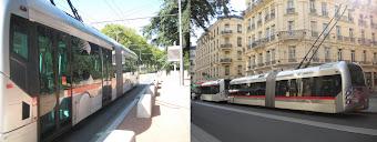 Trolebus Articulado - Lyon França